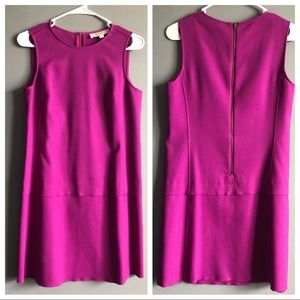 LOFT • Magenta Shift Dress